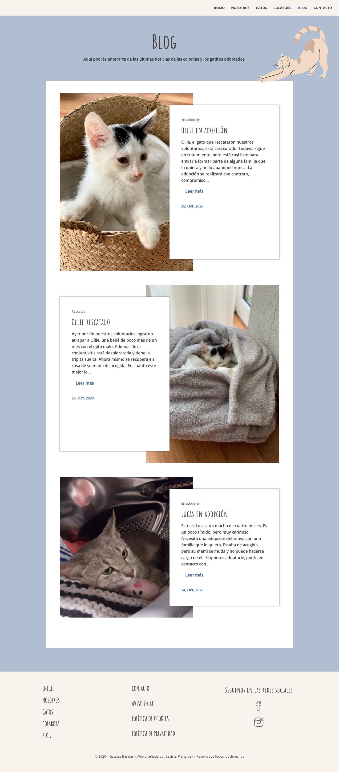diseño web blog