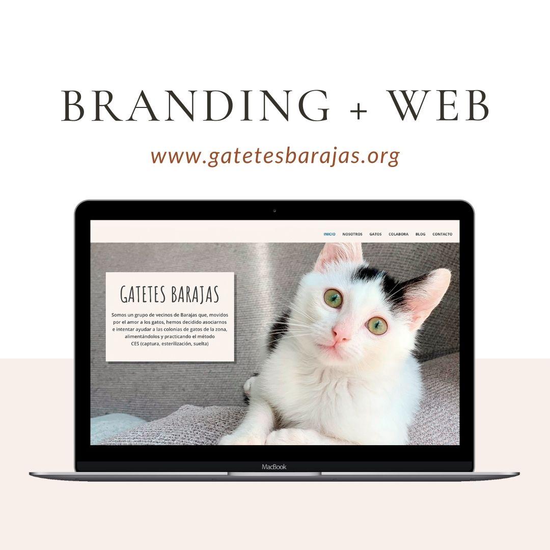 Branding y Diseño web Gatetes Barajas