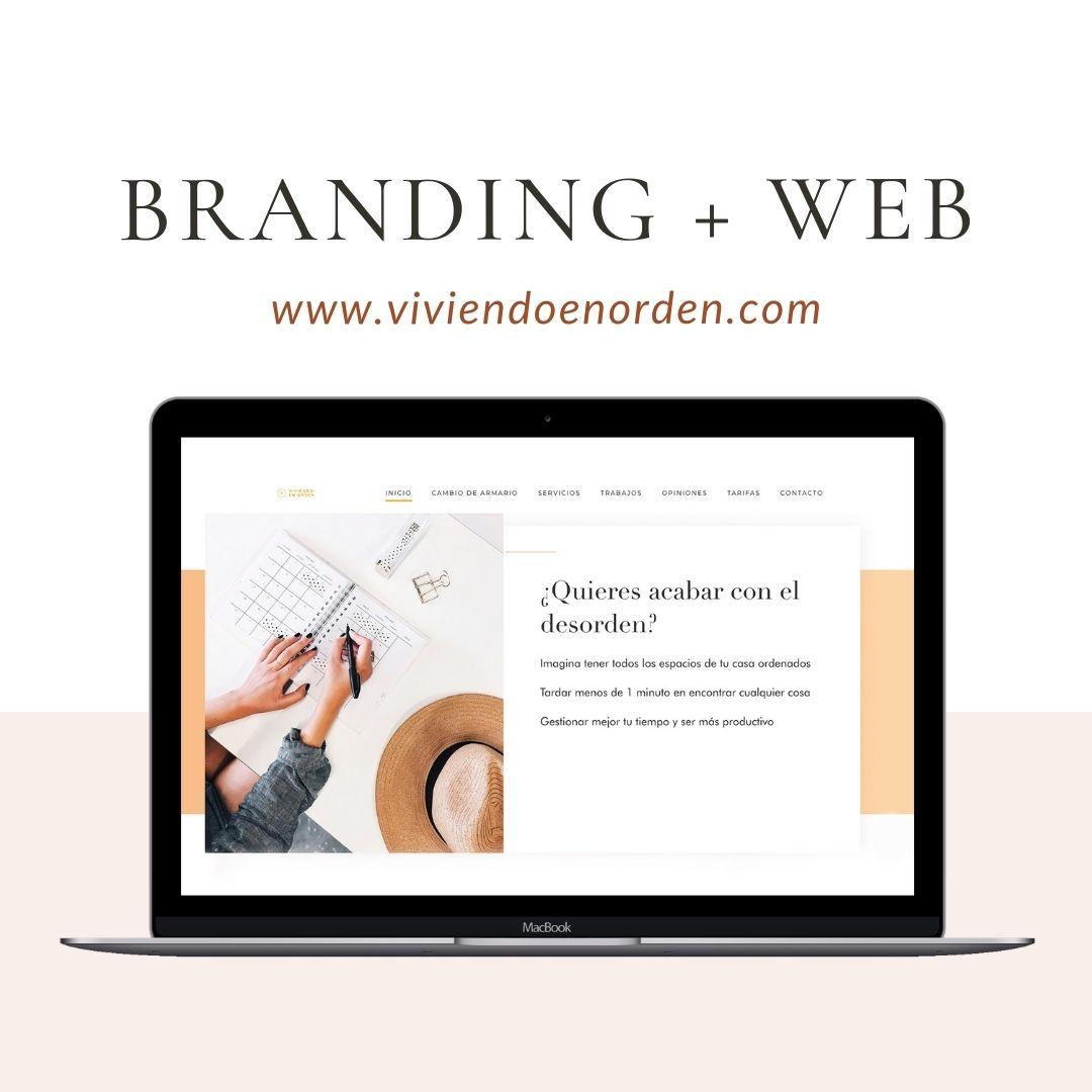 Diseño web viviendoenorden.com